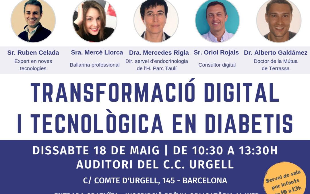 Jornada de Transformació digital i tecnològica en diabetis