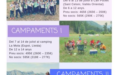 Colònies i campaments d'estiu 2019 per infants amb diabetis