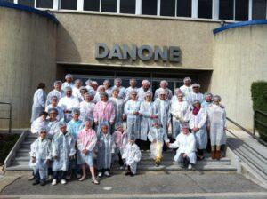 foto Danone visita ADC