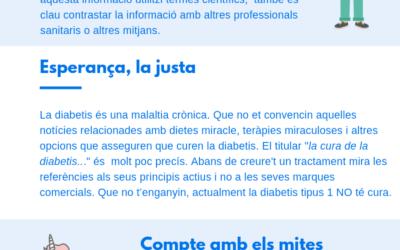 Guia per consultar informació en salut i diabetis