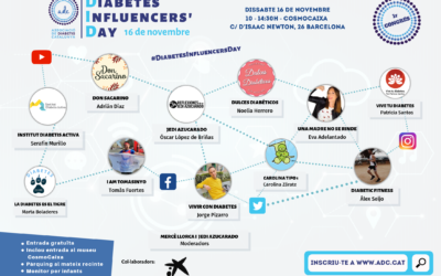 Diabetes Influencers' Day – 16 de novembre de 2019