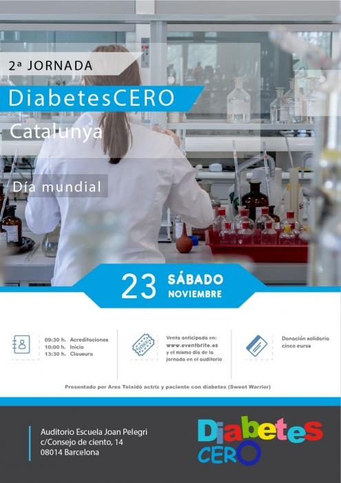 Jornada DiabetesCERO el 23 de noviembre 2019
