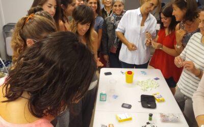 Èxit en les trobades de formació a professorat i acompanyaments