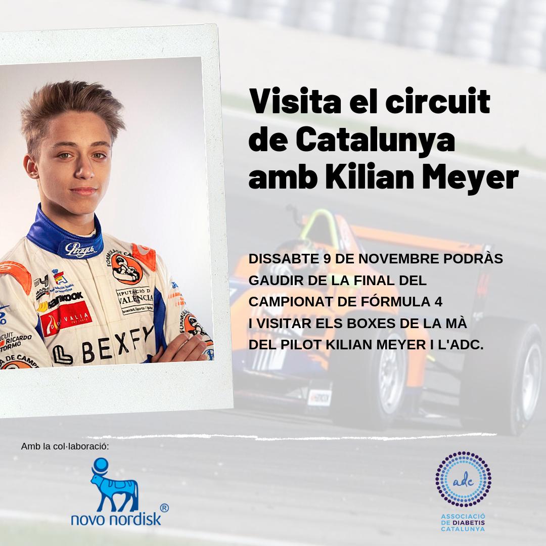 Visita el circuit de Catalunya amb Kilian Meyer