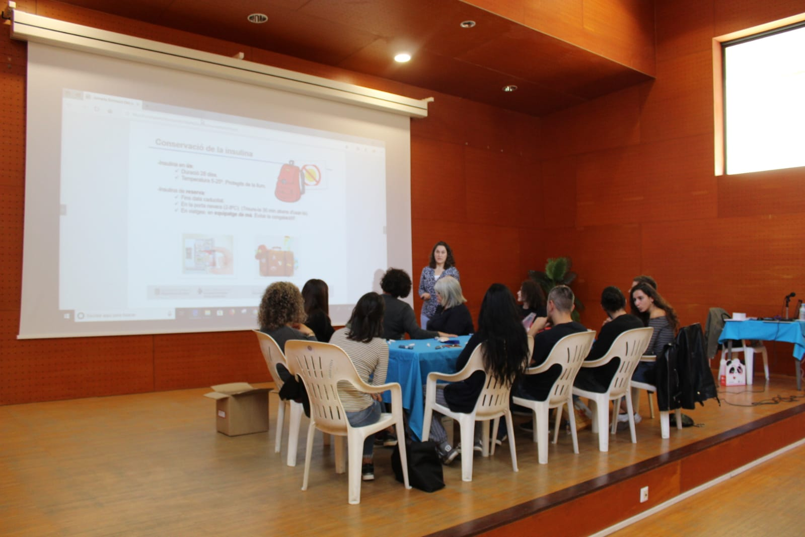 ADC Lleida Diabetis Escola 2019 grup