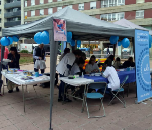 Dia Mundial de la Diabetis a Girona.