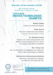 L'aplicació de les noves tecnologies a la diabetis a ADC Comarques Gironines.
