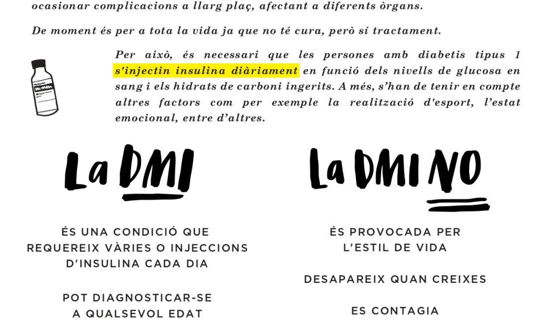 Diabetes Mellitus 1. ADC Associació de Diabetis de Catalunya i Beyond Type 1.