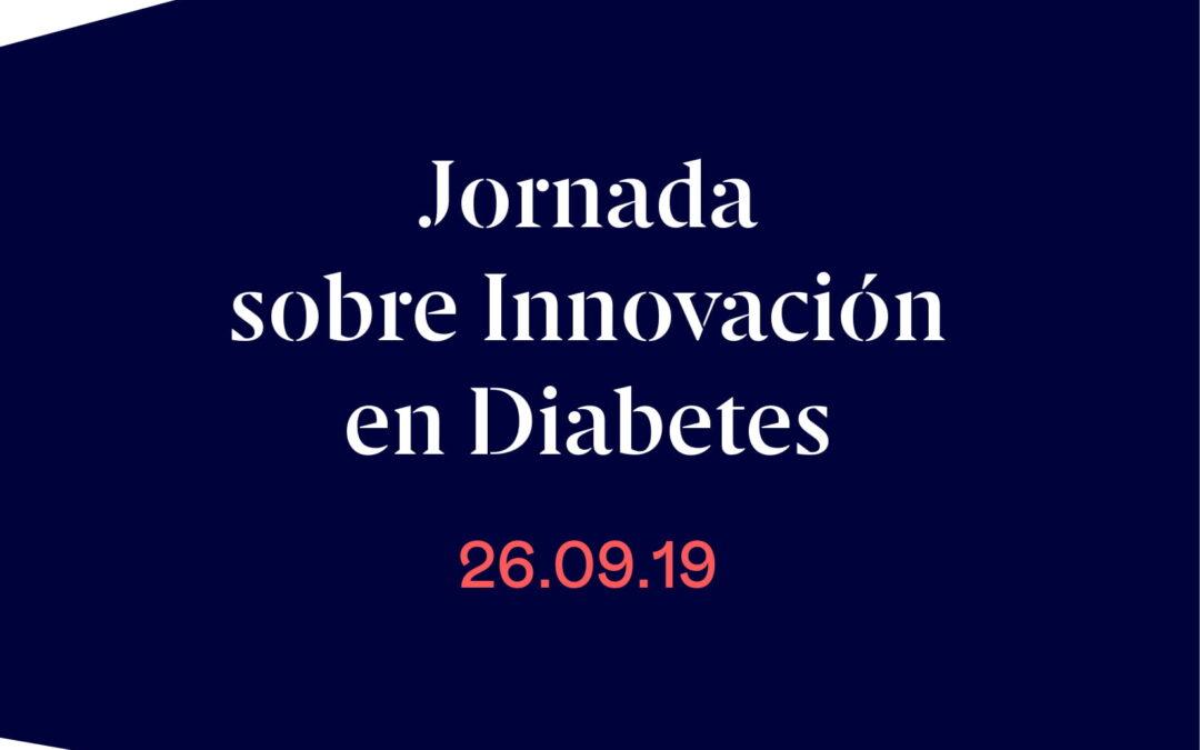 Flyer sobre la Jornada de Innovación en Diabetes 2019