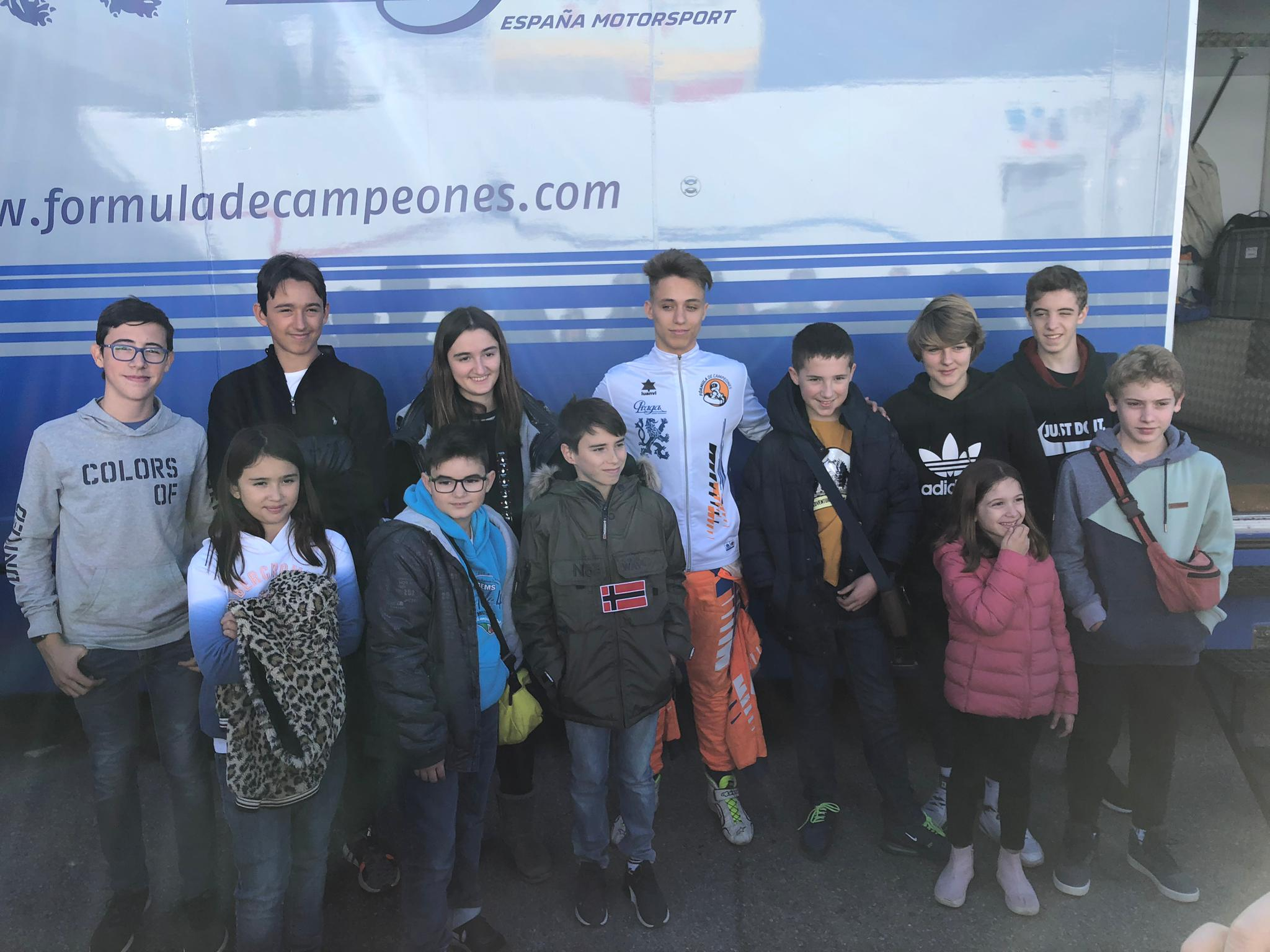 Visita de l'ADC al Circuit de Catalunya.