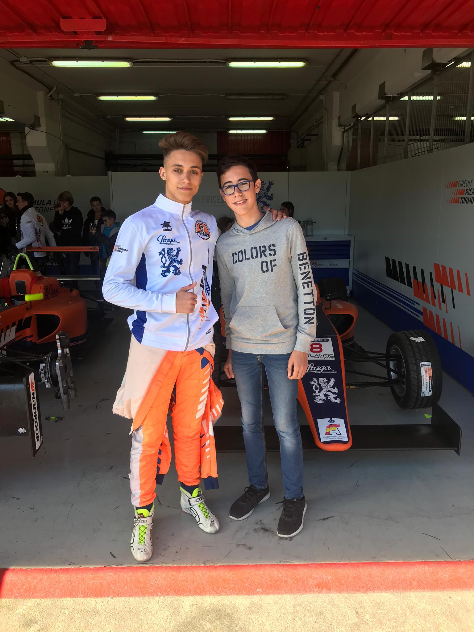 Visita de l'Associació de Diabetis de Catalunya al Circuit de Catalunya, amb Kilian Meyer