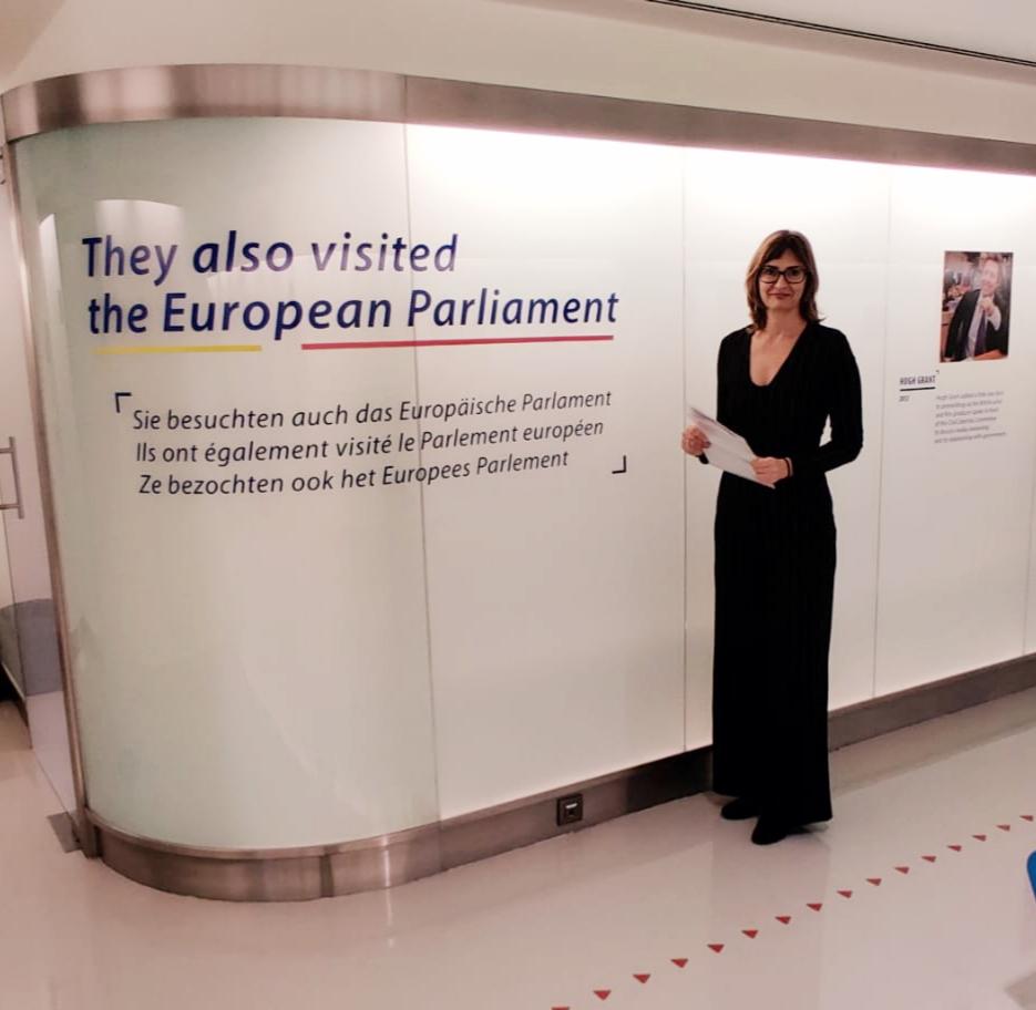 ADC a Brussel·les al congrés de la IDF.