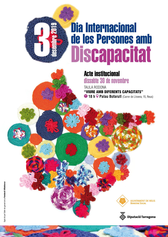 Flyer Xerrada Dia Internacional de les Persones amb Discapacitat à Reus