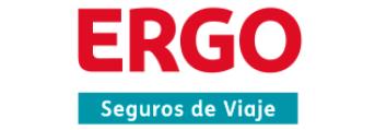 Logotip d'Ergo, empresa de seguros de viaje