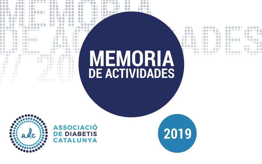 Memoria de actividades 2019 ADC