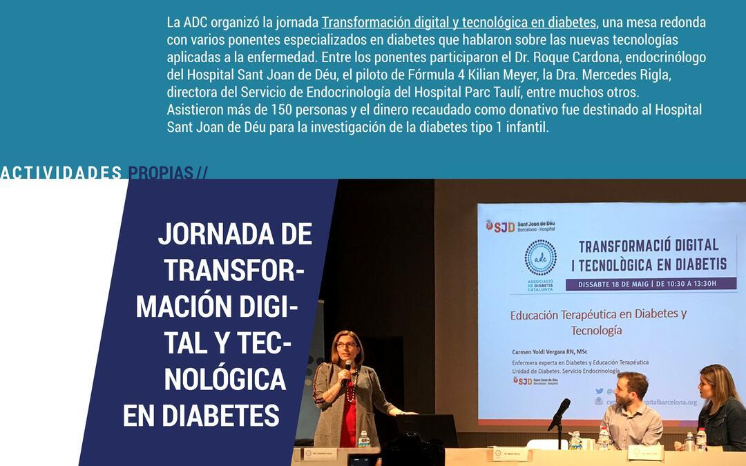 Transformación digital y tecnológica en diabetes