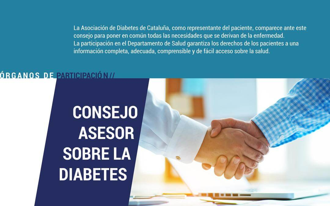 ADC en el consejo asesor sobre diabetes