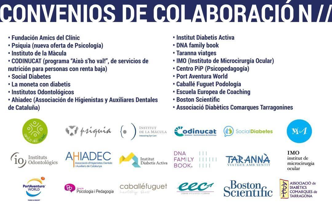 Convenios de colaboración de la ADC