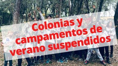 Se suspenden las colonias y campamentos de verano