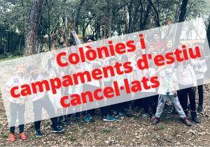 Es suspenen les colònies i campaments d'estiu