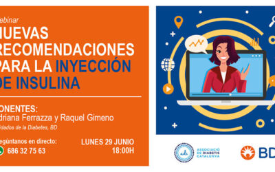 Webinar Nuevas recomendaciones para la inyección de insulina