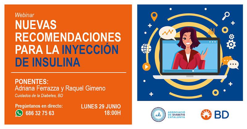 Webinar inyección de insulina