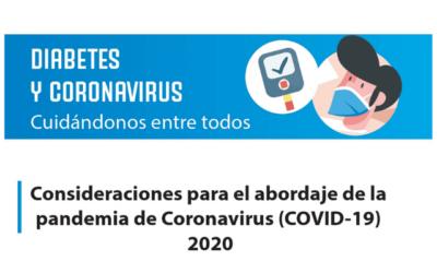 Diabetes y Coronavirus: Cuidándonos entre todos