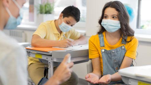 Tornada a l'escola per als infants amb diabetis