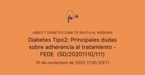 Adherència al tractament de diabetis