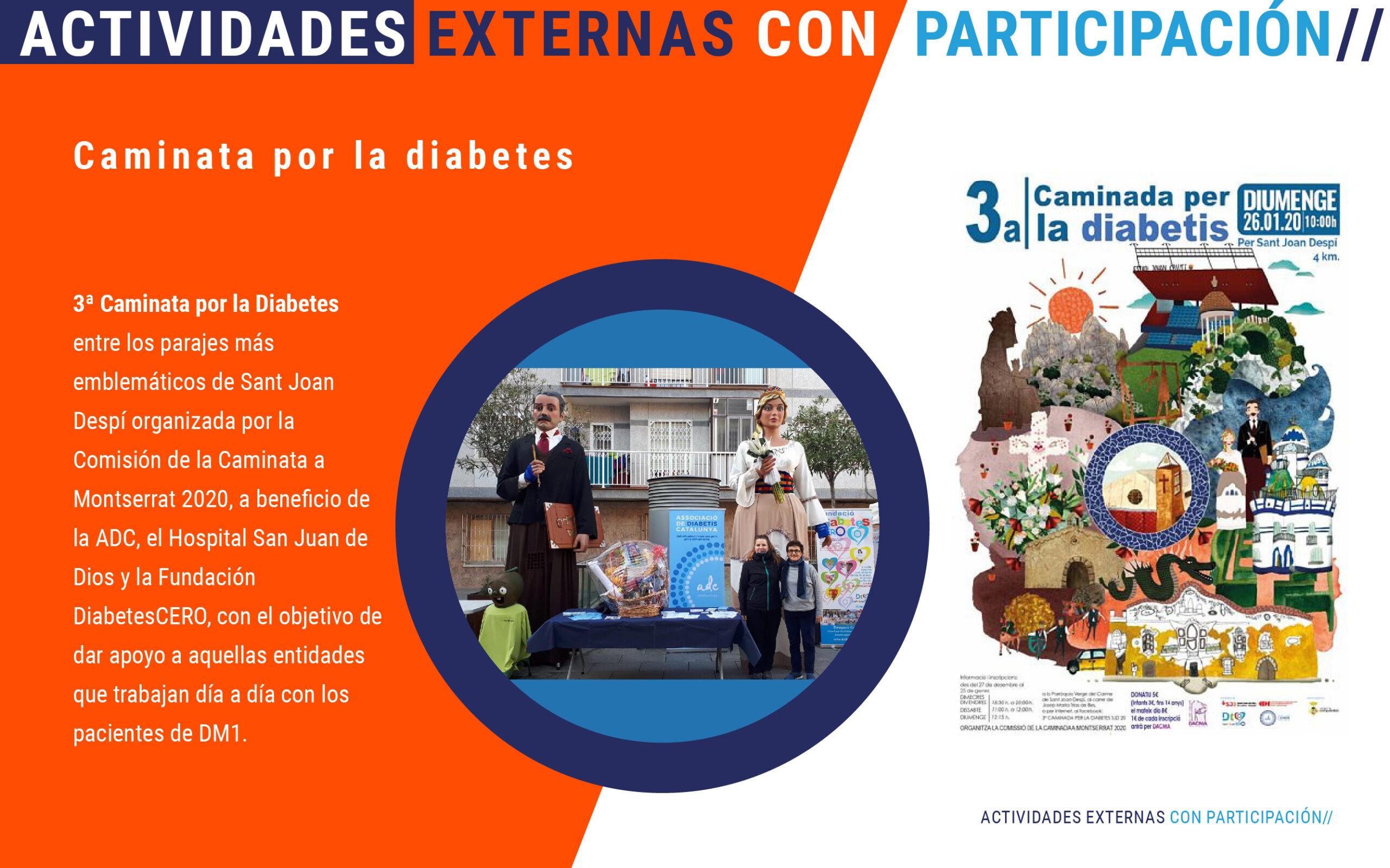Caminada por la diabetes