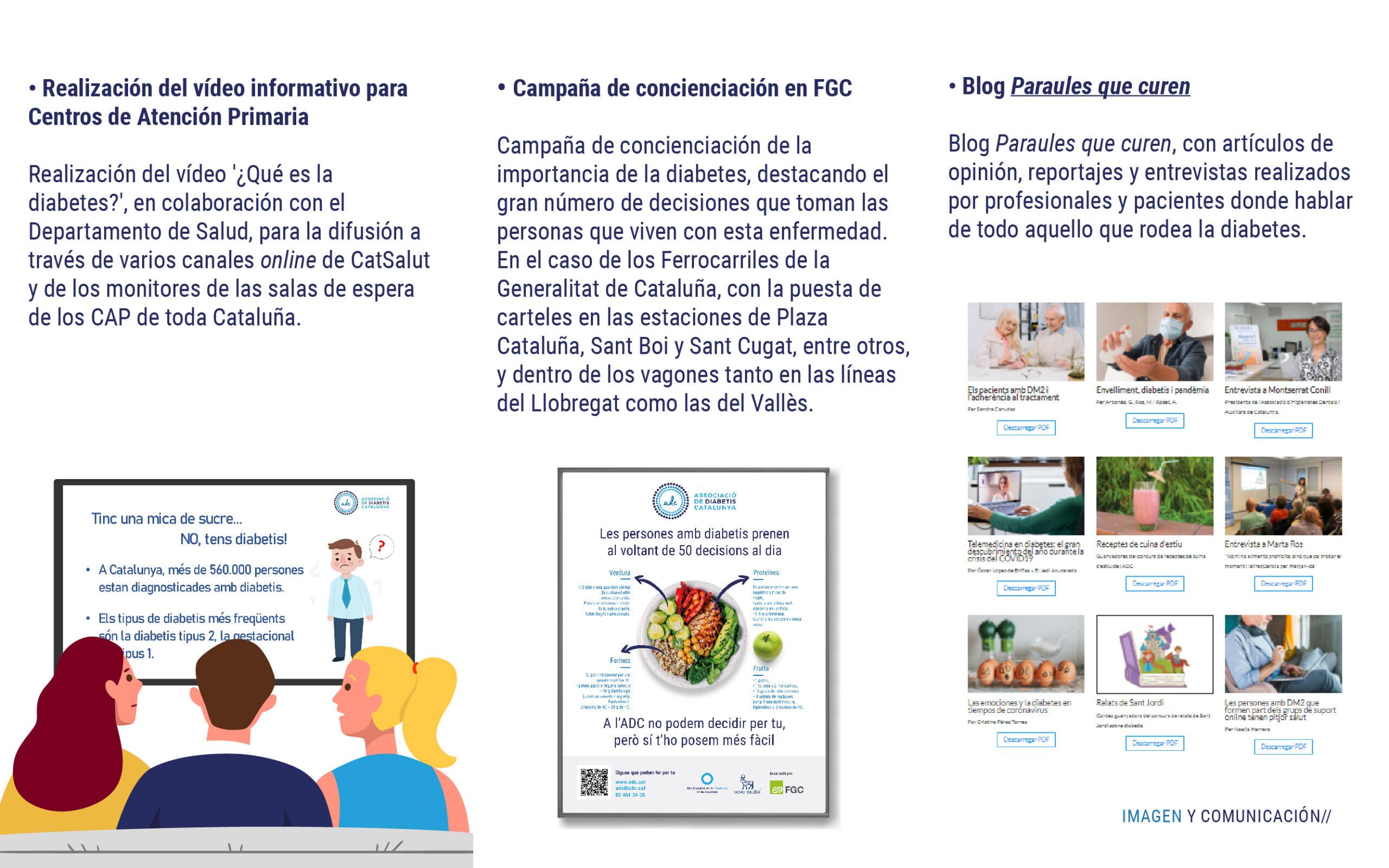 Campañas de diabetes