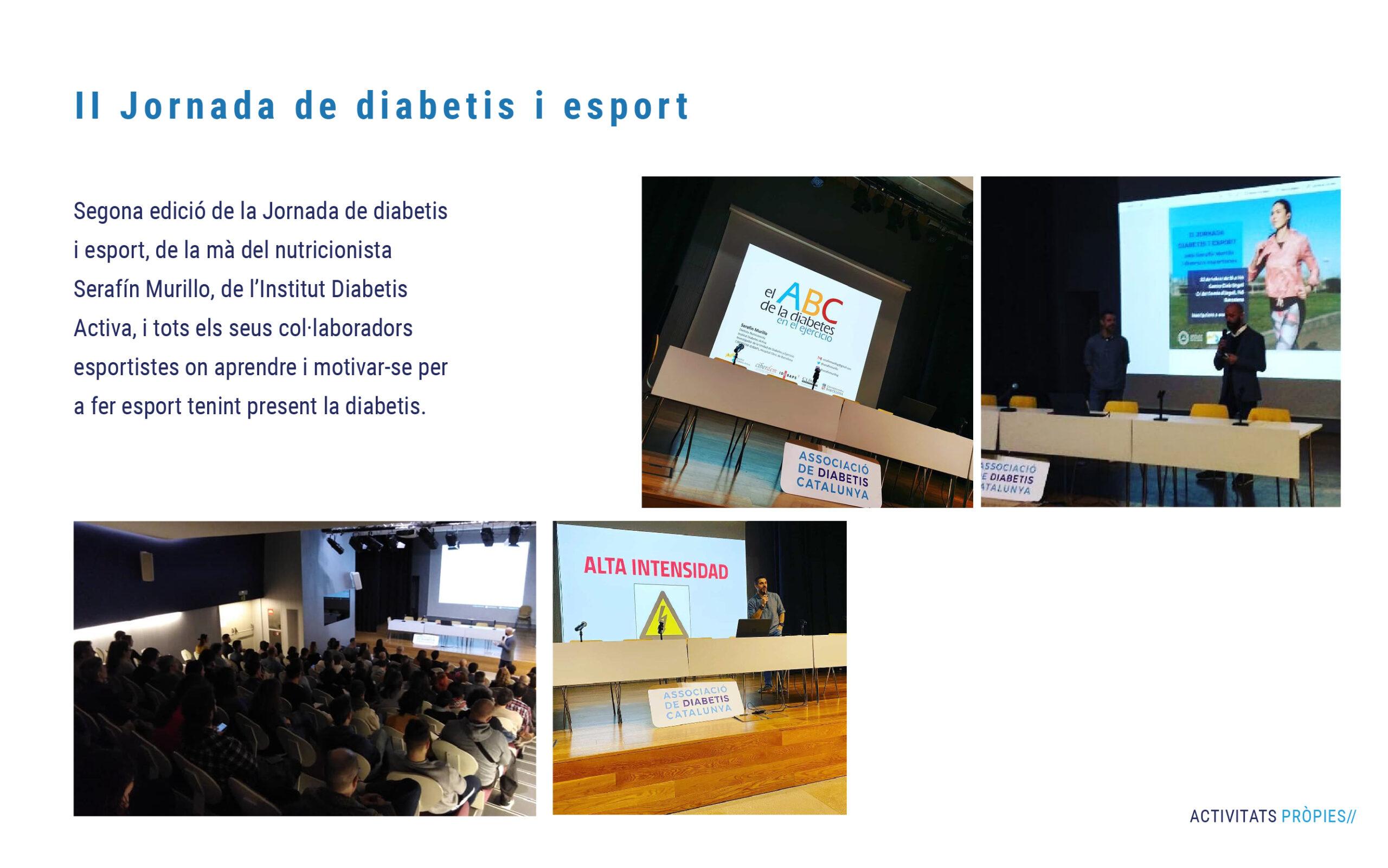 Jornada diabetis i esport