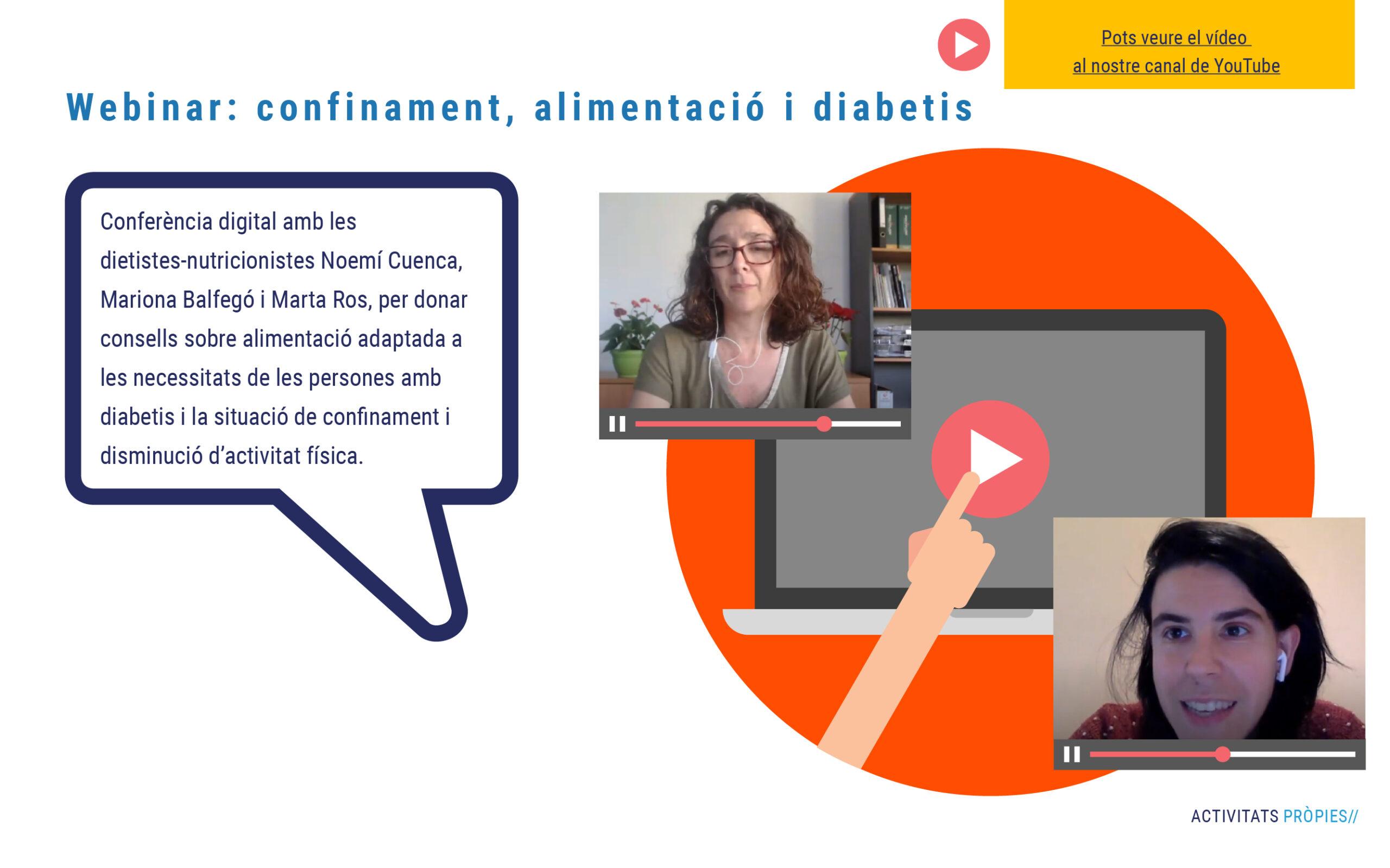 Confinament, alimentació i diabetis