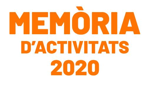 Memòria d'activitats 2020