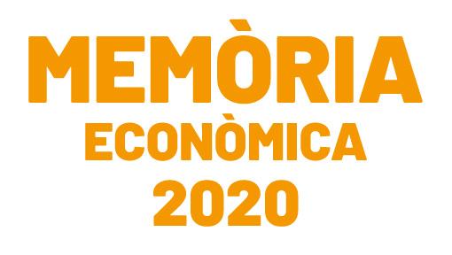 Memòria econòmica 2020