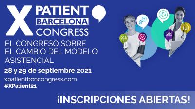 Inscripciones abiertas al XPatient Barcelona Congress!