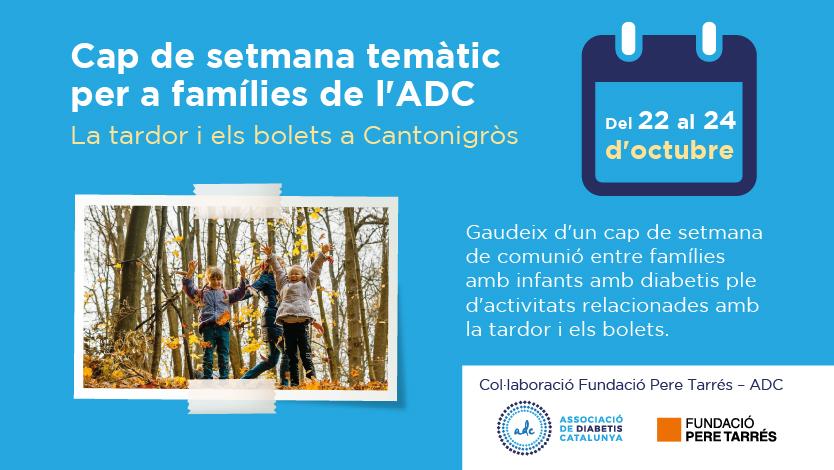 Cap de setmana temàtic per a famílies de l'ADC