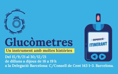 Exposicióitinerant: Història dels glucòmetres