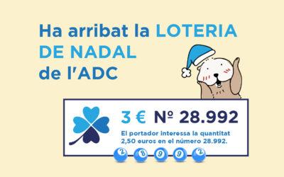 Ha arribat la Loteria de Nadal de l'ADC